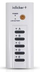 i>clicker+ remote